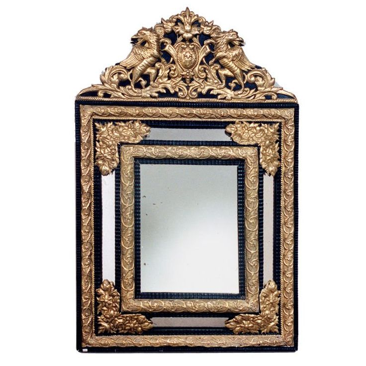Cushion Mirror   From a unique collection of antique and modern wall mirrors at https://www.1stdibs.com/furniture/mirrors/wall-mirrors/