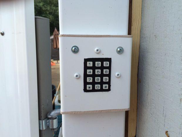 Automatic Gate Keypad Lock