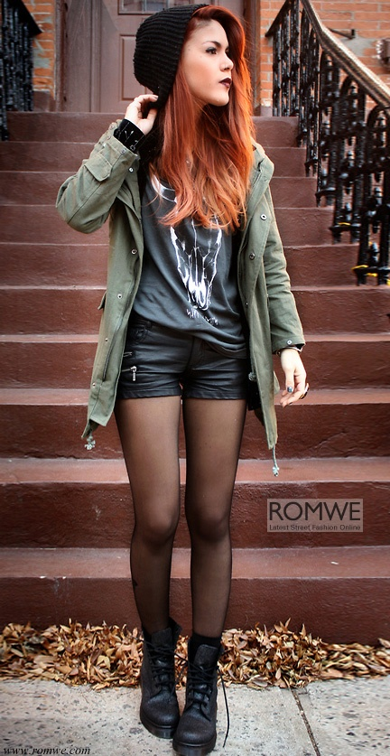 Love Lua P., her hair, and just about every outfit I ever see her in! Romwe.com