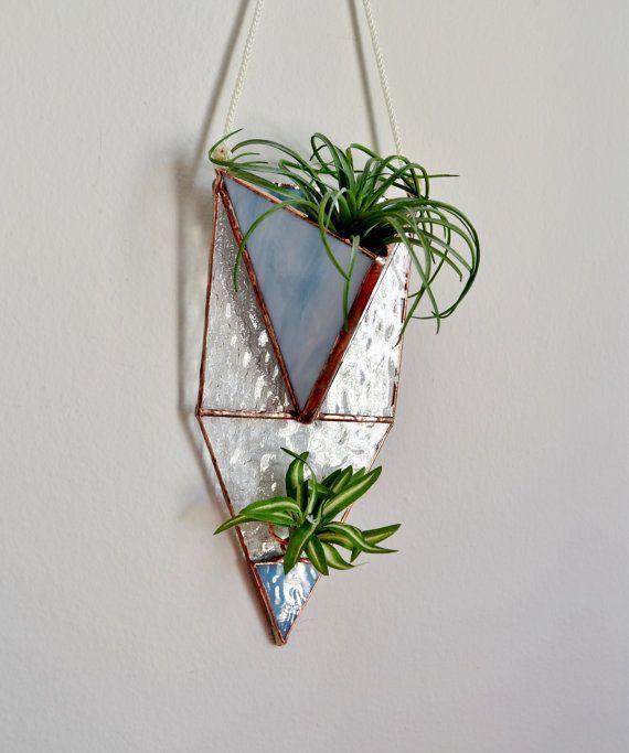 Hanging Planter Wall Plant Holder Terrarium By Jacquiesummer