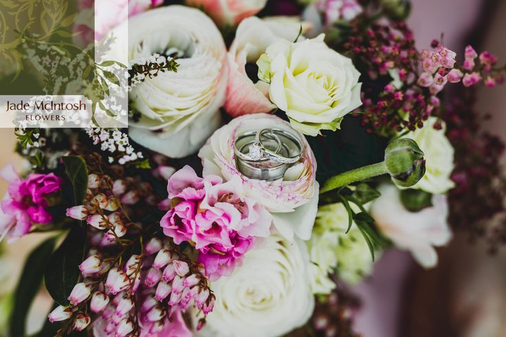 Carrie's bouquet in tones of cream, pink, aubergine and rich green is a winter wonder. www.jademcintoshflowers.com.au www.curlytreephotography.com.au