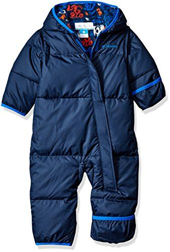 Columbia Baby Boys' Snuggly Bunny Bunting Collegiate Navy/Navy Animal 6-12 Months