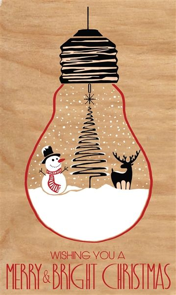 Wooden Christmas Cards - WOODI COLLECTION - Product Showroom 2017