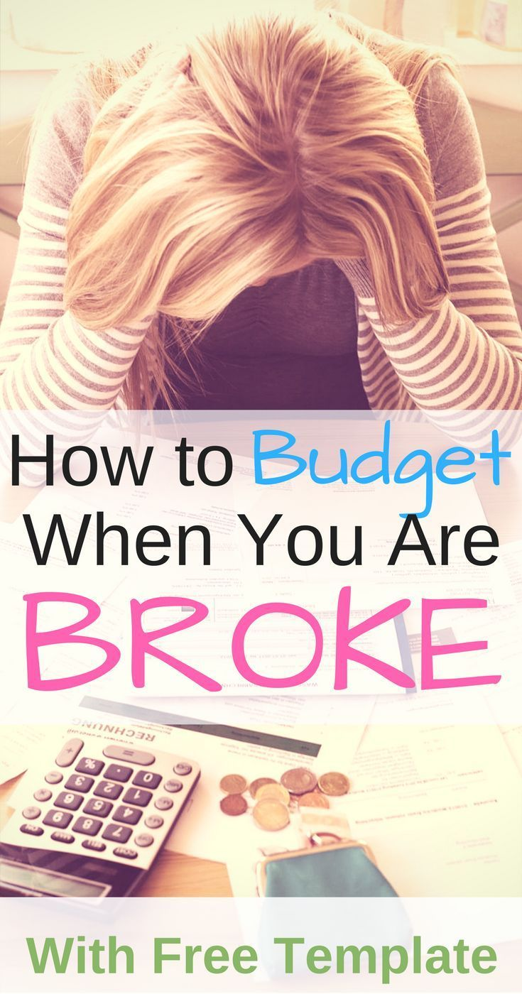 If you spend 15 seconds on google, you will find TONS of articles about budgeting. But how do you start to budget when you are broke??