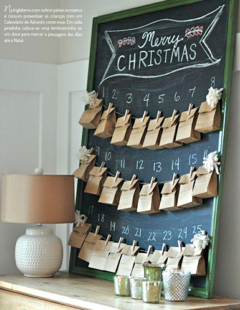 blog de decoração - Arquitrecos: Calendários do Advento... ainda dá tempo!!