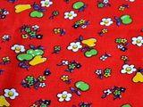 Vintage Stoffe - Rotkäppchen Vintage Stoff - ein Designerstück von Stoeffchen-und-Krimskrams bei DaWanda
