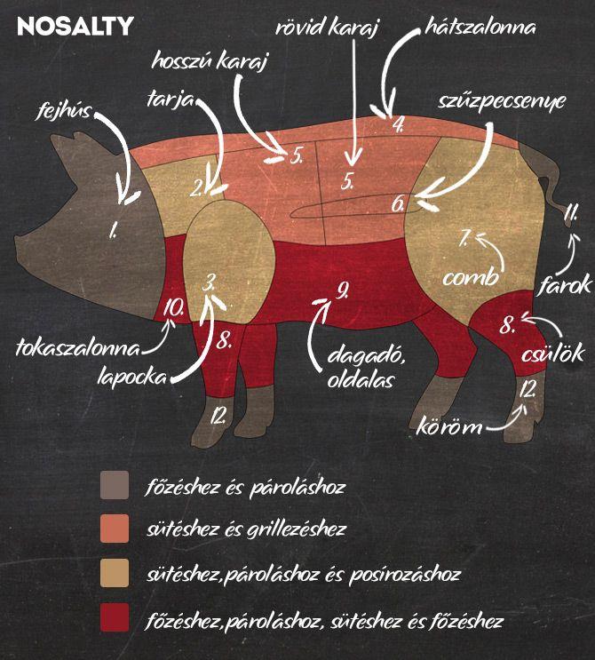 Receptek tömkelege - megmutatjuk, mit készíts a sertés egyes részeiből   NOSALTY