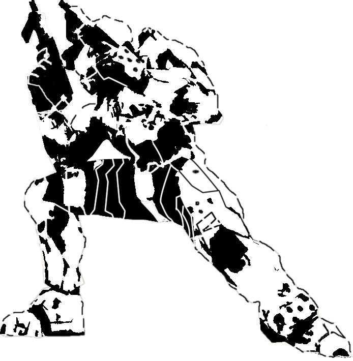master chief stencil digi 2 by baron von badguy on deviantart stencils 1 pinterest. Black Bedroom Furniture Sets. Home Design Ideas
