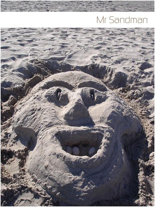 Getting creative with sand on Lake Michigan