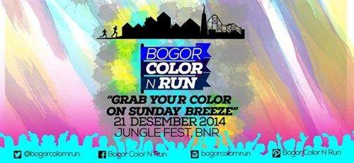 "Bogor Color n Run ""Grab Your Color on Sunday Breeze"" 21 Desember 2014 At Jungle Fest, Bogor Nirwana Residence (BNR)  Info lebih lanjut akan segera menyusul  http://eventjakarta.com/bogor-color-n-run-grab-your-color-on-sunday-breeze/"
