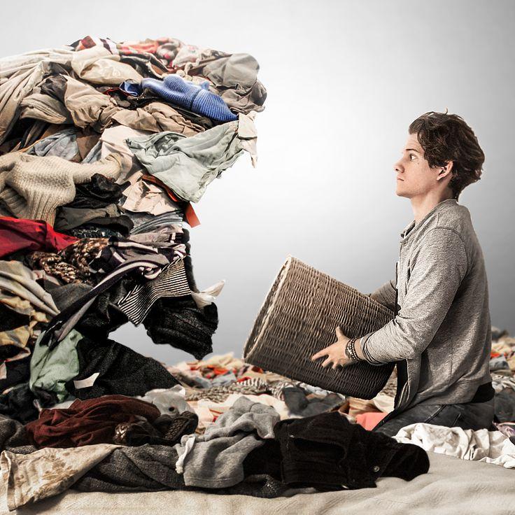 The Struggle of Sunday Chores.   #Washing #clothes #design #manipulaiton #tiger #cat #lion #sunday