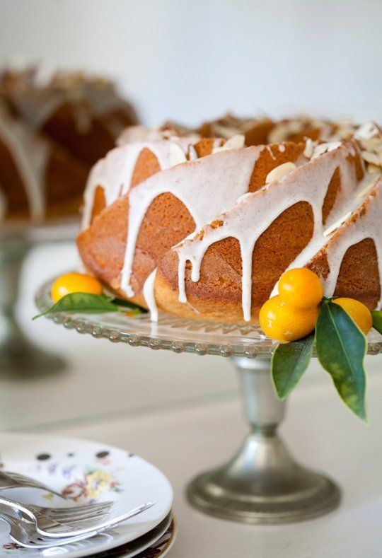 Wow your friends with a homemade Lemon Poppyseed Bundt cake.
