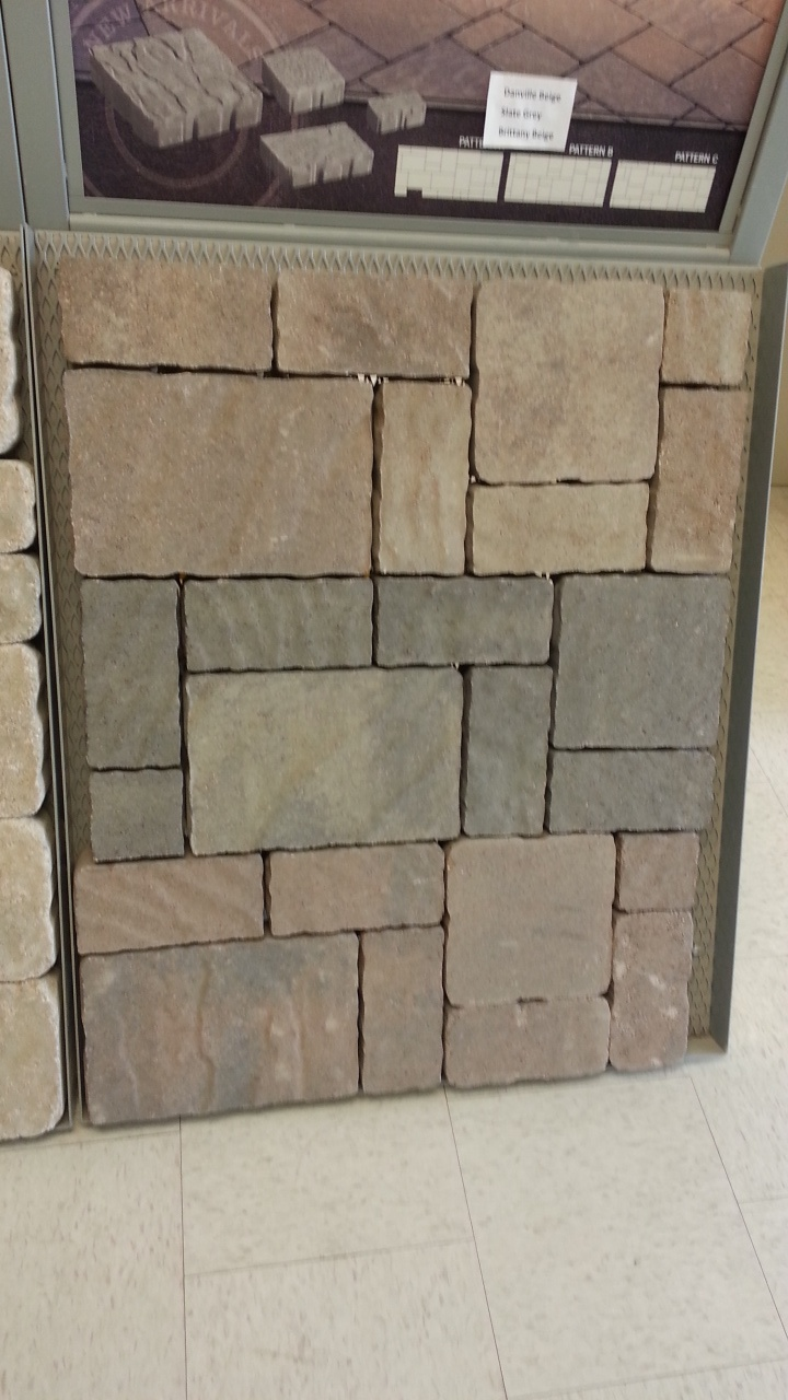Belgard Urbana Stone Pavers In Danville Beige Slate Grey