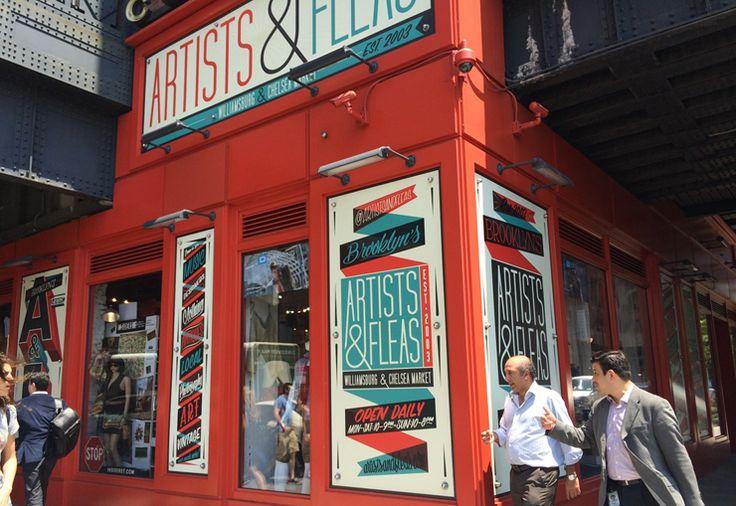 A Weekend Guide to New York City: Artist & Fleas Market