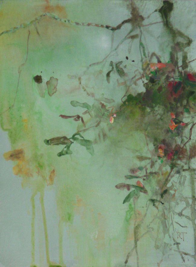 Cliff Vines - Randall David Tipton 2015 watermedia on paper