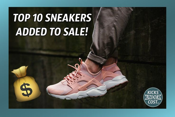 Top 10 New Sneakers On Sale Now At Finish Line!
