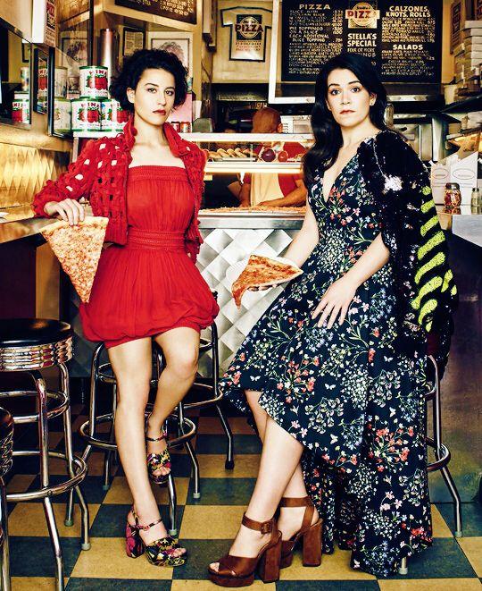 Ilana Glazer & Abbi Jacobson.