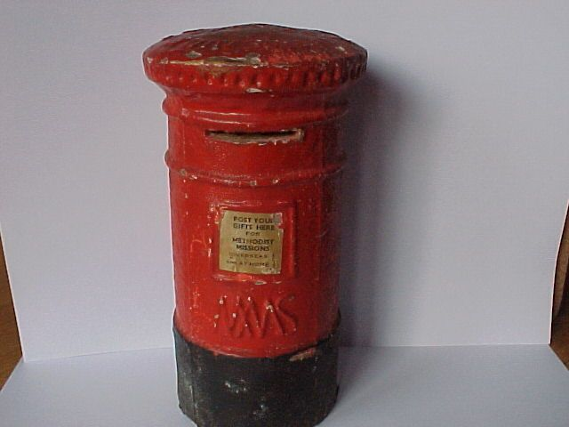 Rare Antique Methodist Missionary Post Box Collection