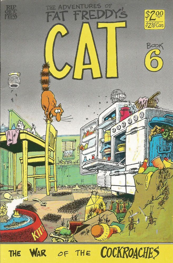 from $0.99 - Fat Freddy's Cat #6 Rip Off Press Freak Brothers #Comic