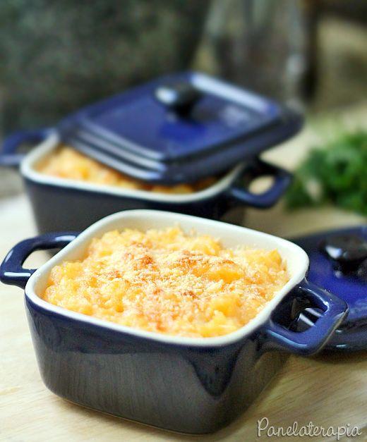 PANELATERAPIA - Blog de Culinária, Gastronomia e Receitas: Purê Gratinado de Abóbora e Batata