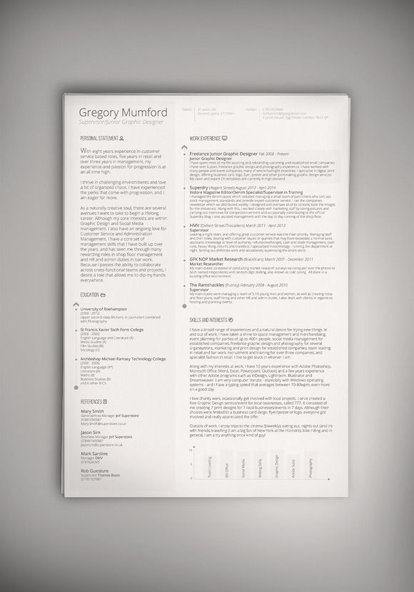 105 best Executive Resume Template images on Pinterest Cover - executive resume design