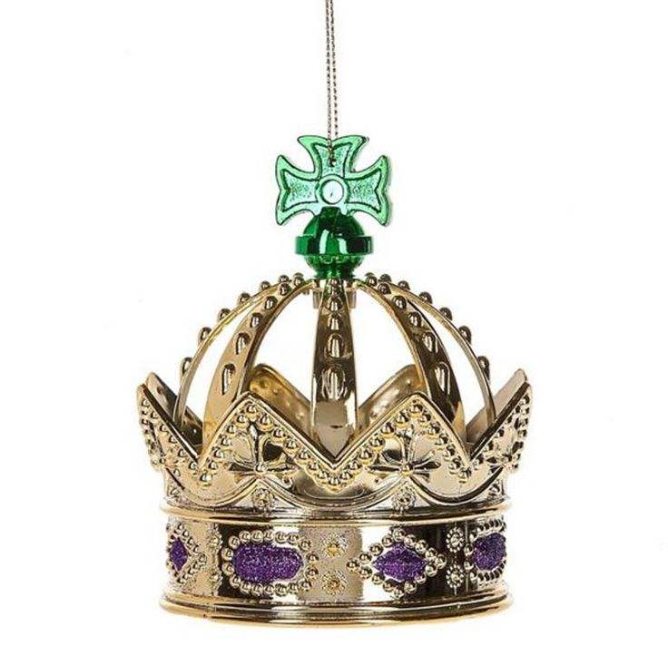 26 best images about mardi gras decor on pinterest trees for Christmas crown decoration