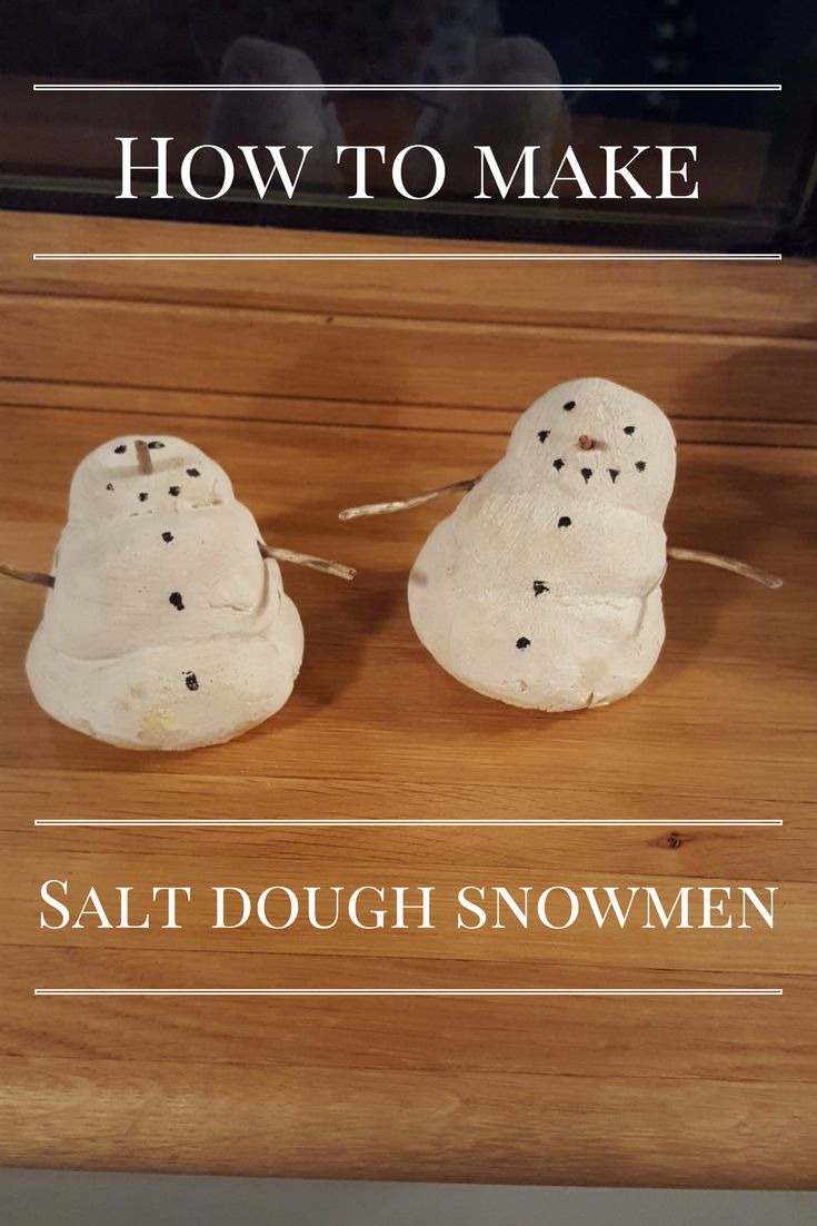 To find out how to make these cute salt dough snowmen take a look at my blog. These snowmen are perfect for a Christmas activity with the children!