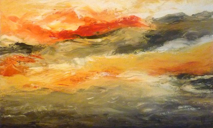 """Extreme Power"" by artist Carol Hazel - Buy Western Australian Art Online from Out of the Box Biz"