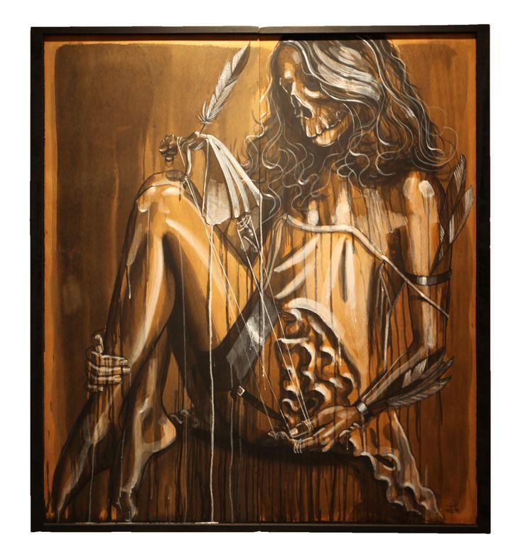 Un mal pour un bien - Leza One - Urban Muses - @ Evartspace Gallery