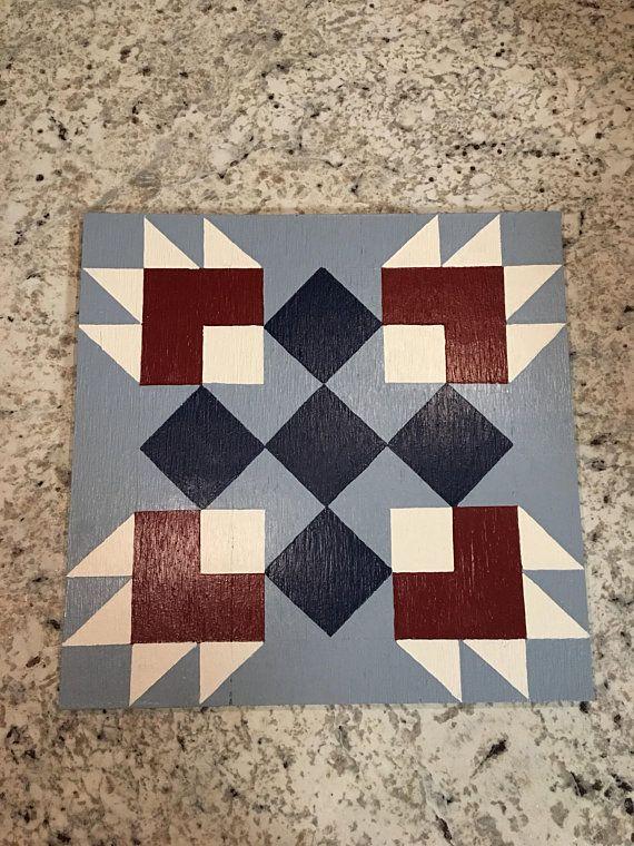 2 X2 Bear Paw Barn Quilt Barn Quilt Patterns Barn Quilt Designs Barn Quilt