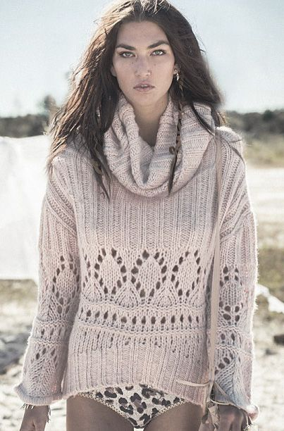winter pointelle... knits...