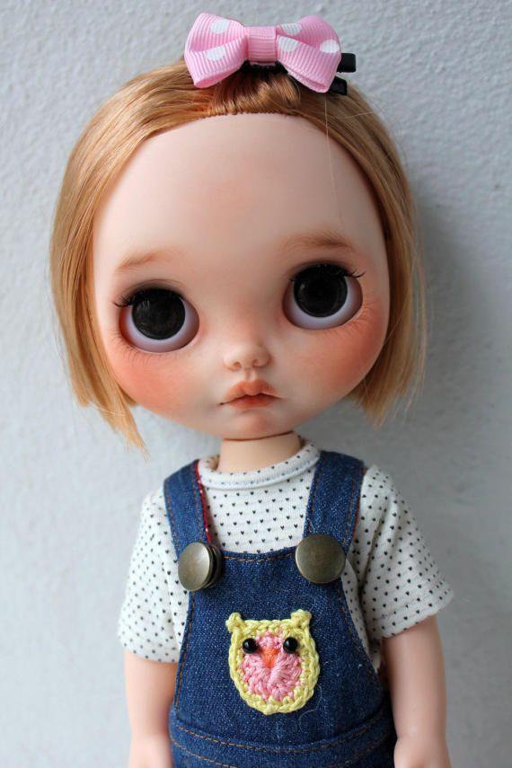 Nelly - OOAK benutzerdefinierte Blythe Puppe von Meadowdoll