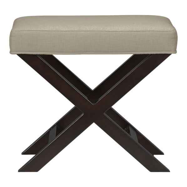X Base Bench Vanity Stool In Bedroom Benches