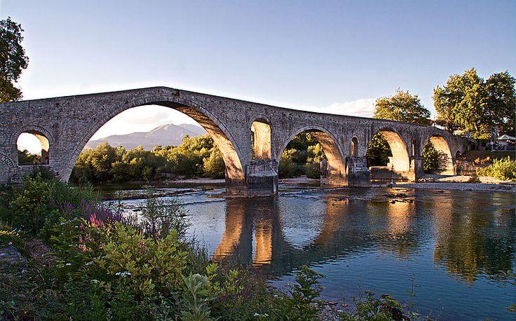 Arta Bridge Epirus Greece
