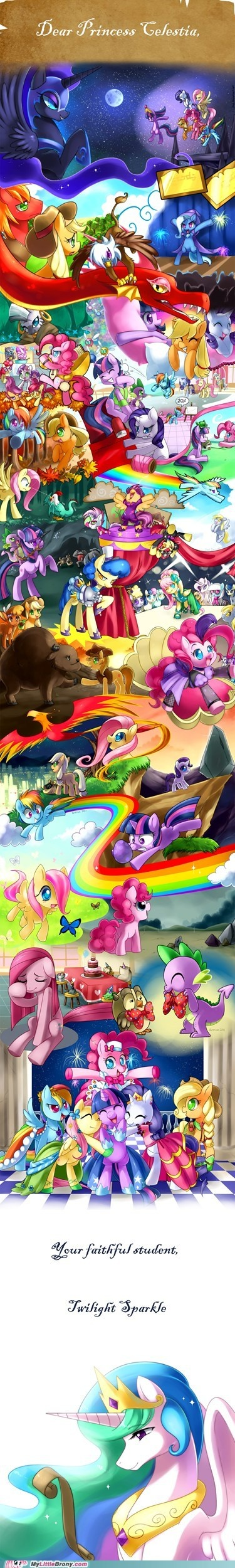 *Sniff* Oh how long that was.And now Twilight's a princess!
