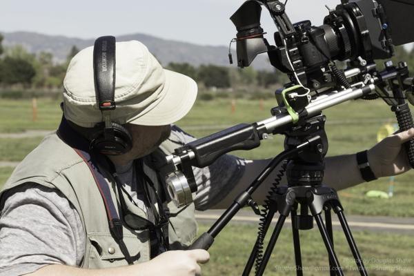 "#RIGSHOT by @ShutterShaw: ""@The_SOAC at Apollo Field - Zack Davis shooting #GH4"""