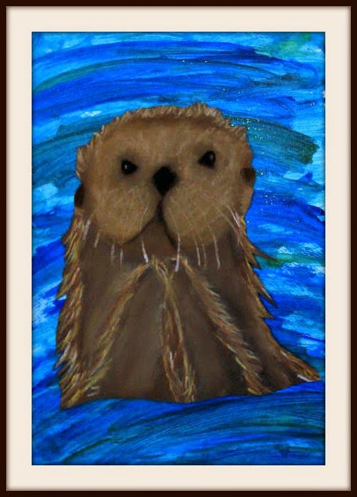 I have had several requests for a drawing tutorial for my Sea Otter post last October. So I added a basic one below and thought I'd post ag...