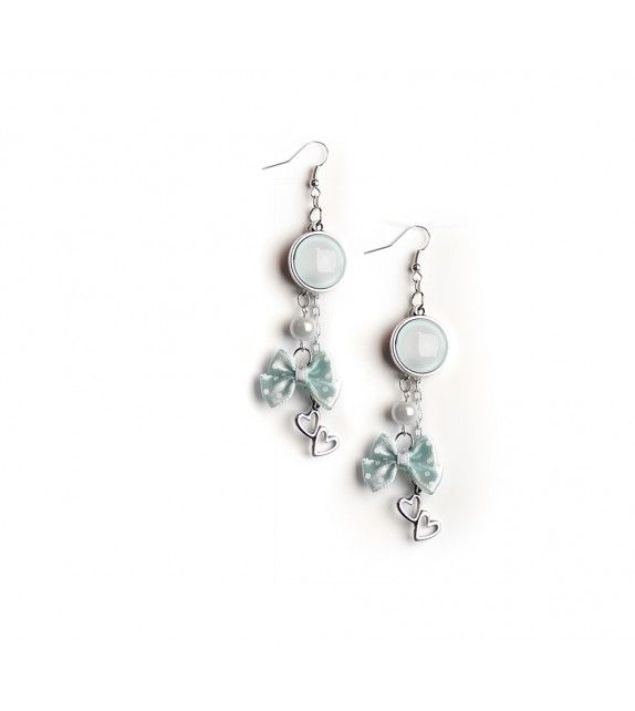 Babyblue earrings. available at www.aconite.at