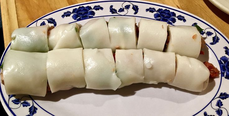 https://flic.kr/p/QZYaAC | bbq pork rice noodle roll Sam Wo's Chinatown | www.placesiveeaten.com/blog/sam-wo-in-chinatown