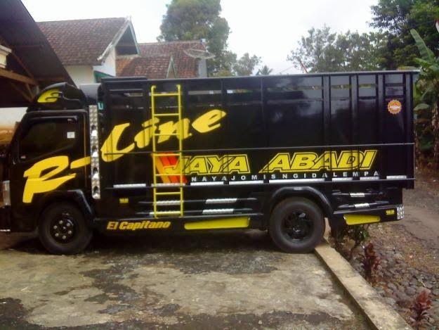 Kumpulan Foto Mobil Truk Modifikasi Indonesia Ceper dan Keren