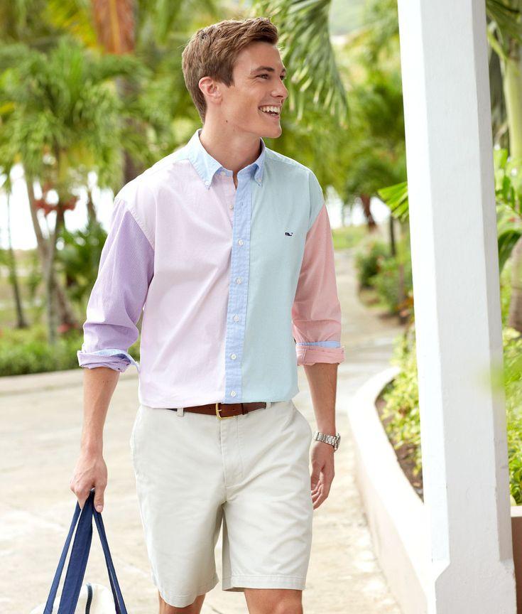 Preppy guy clothing style