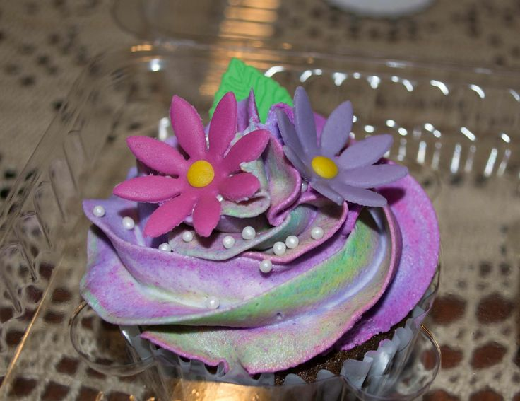 #cupcakes #flower