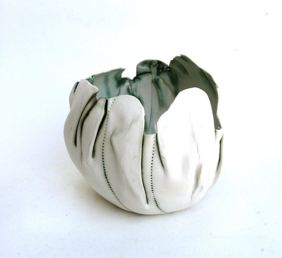 Balloon bowl pottery - there's something I love about this