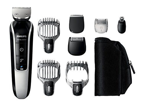 Philips Series 5000 12-In-1 Mens Grooming Kit QG3362/23, Beard Trimmer with Hair Clippers, Moustache, Stubble, Detail Shaving, Trimming, Nose Hair and Eyebrow Trimmers. For product & price info go to:  https://beautyworld.today/products/philips-series-5000-12-in-1-mens-grooming-kit-qg336223-beard-trimmer-with-hair-clippers-moustache-stubble-detail-shaving-trimming-nose-hair-and-eyebrow-trimmers/