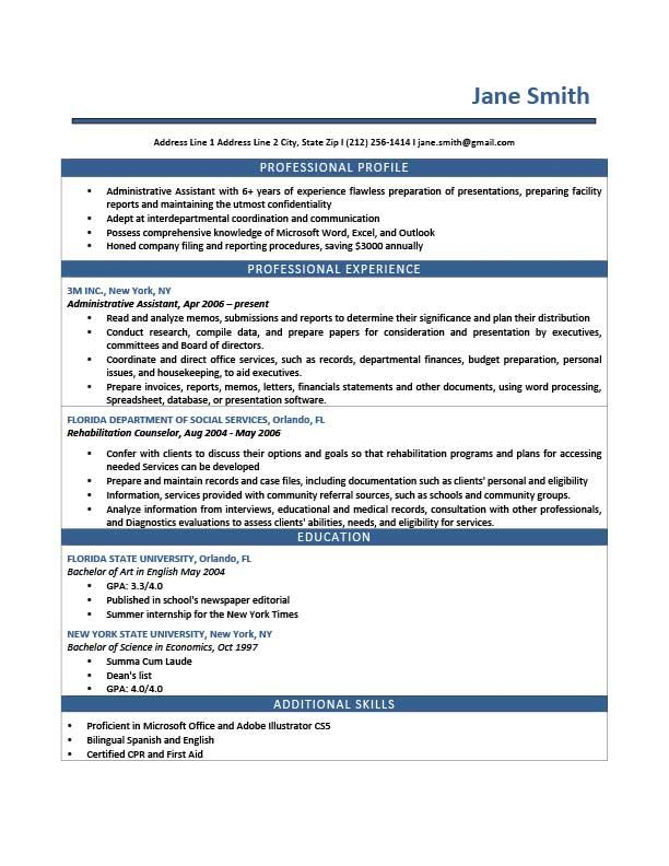 52 best Resumes images on Pinterest Keyboard piano, Free - writing a professional profile