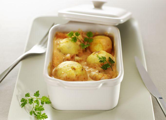 Découvrez la recette du chef Christian Tetedoie du restaurant Christian Tetedoie : Quenelle de Brochet, Sauce Nantua et Écrevisses