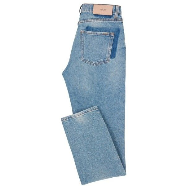 Skinny-fit jeans in salt-and-pepper denim Blue from HUGO for Women in the official HUGO BOSS Online Store free shipping