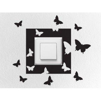 Konnektor matrica csomag - Pillangók - KaticaMatrica.hu - A minőségi falmatrica és faltetoválás webáruház
