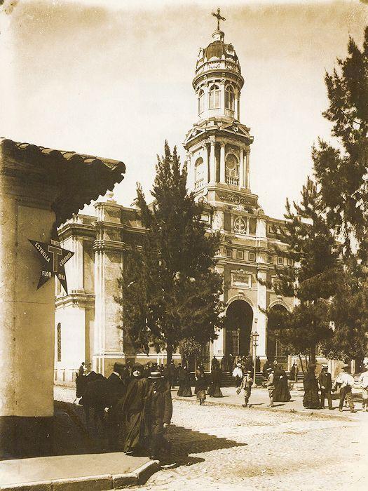 TALCA: Iglesia Santo Domingo, inicios S.XX