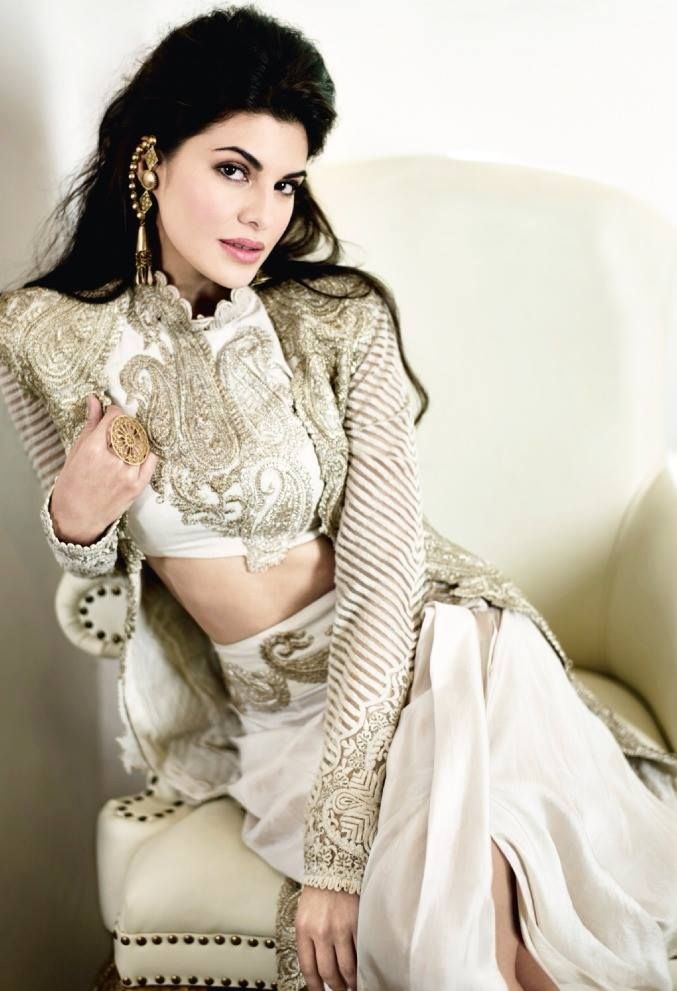 Jacqueline Fernandez in a photoshoot for Femina magazine. #Fashion #Style #Beauty #Bollywood